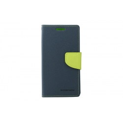Toc My-Fancy Samsung Galaxy S4 Active I9295 Albastru/Lime