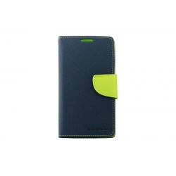 Toc My-Fancy Samsung Galaxy S5 G900 Albastru/Lime