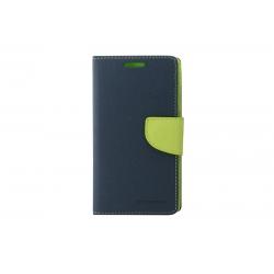 Toc My-Fancy Samsung Galaxy S6 G920 Albastru/Lime