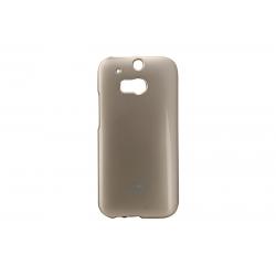 Husa My-Jelly HTC One M8 Auriu