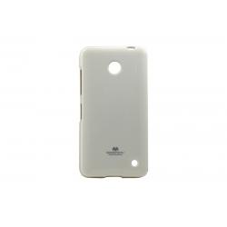 Husa My-Jelly Nokia 630/635 Lumia Alb