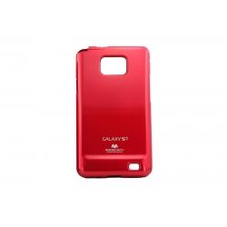 Husa My-Jelly Samsung Galaxy S2 I9100 Rosu