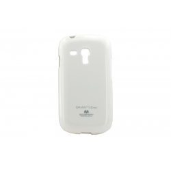 Husa My-Jelly Samsung Galaxy S3 Mini I8190 Alb