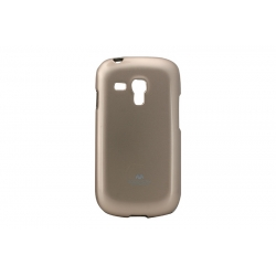 Husa My-Jelly Samsung Galaxy S3 Mini I8190 Auriu