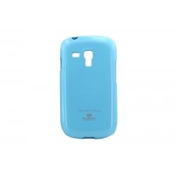 Husa My-Jelly Samsung Galaxy S3 Mini I8190 Skyblue