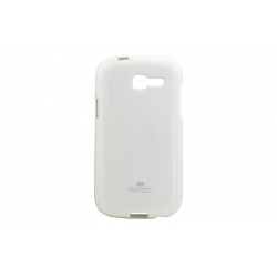 Husa My-Jelly Samsung Galaxy Trend Lite S7390 Alb
