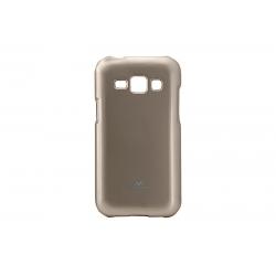 Husa My-Jelly Samsung Galaxy J1 J100 Auriu