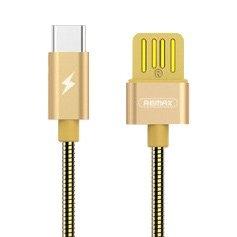 CABLU REMAX SILVER SERPENT RC-080m MICRO USB, GOLD
