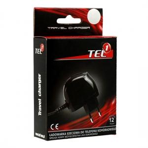 INCARCATOR PRIZA TEL1 IPHONE 3G / 4 / 4S 1A, BLACK