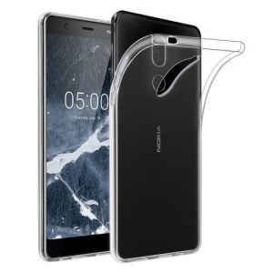 HUSA SILICON ULTRASLIM 0.3mm NOKIA 5.1 PLUS 2018