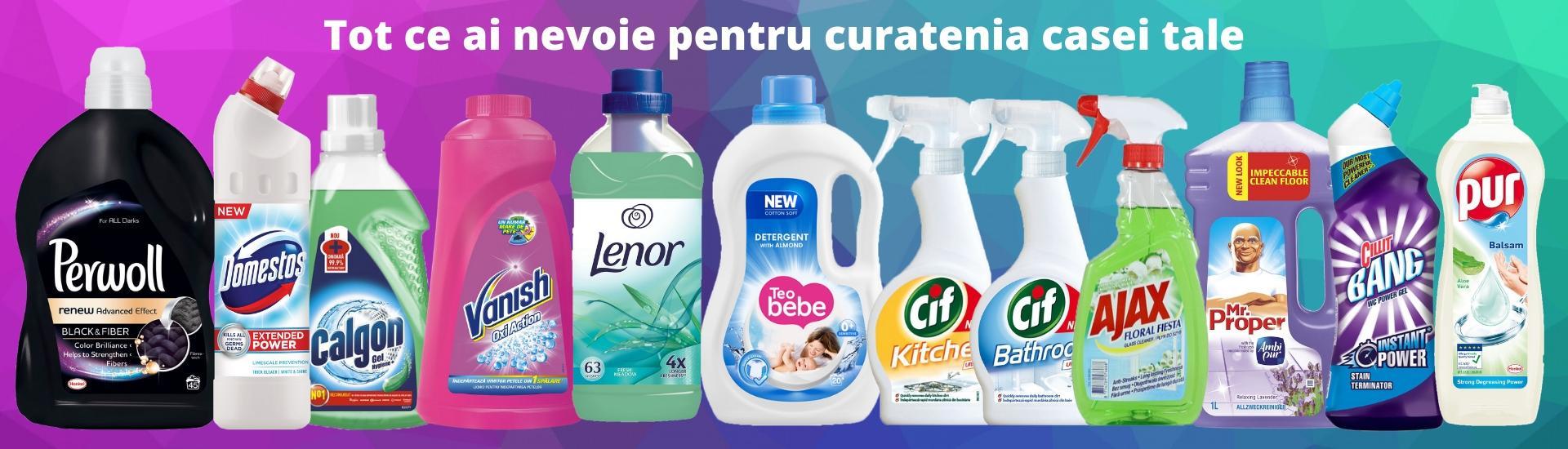 Tot ce ai nevoie pentru curatarea casei tale