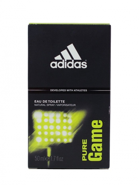 Adidas Eau de Toilette, Barbati, 50 ml, Pure Game 0
