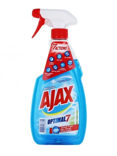 Ajax Solutie curatat geamuri, 500 ml, Multi Action 0