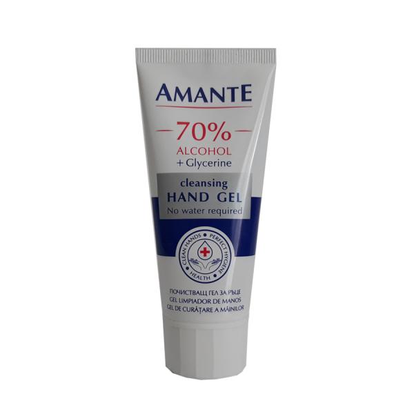 Amante Igienizant maini, 70 alcool, 65 ml 0