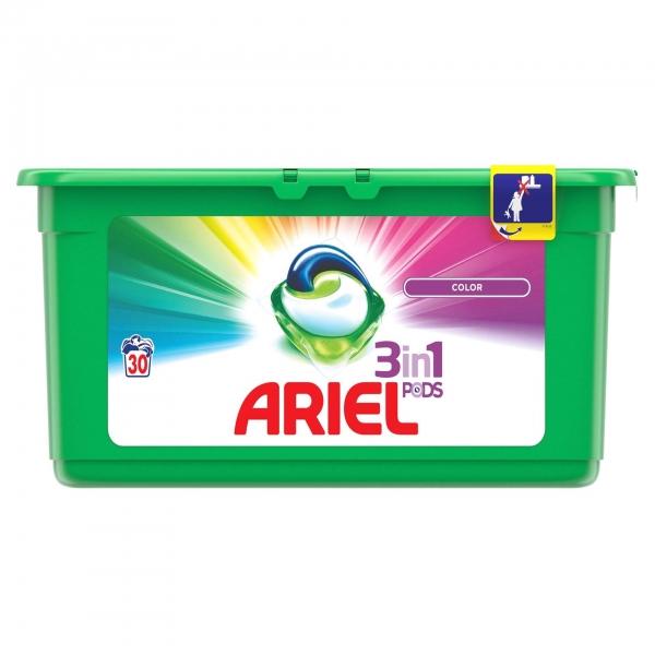 Ariel Detergent Capsule 3in1 PODS, 30 buc, Color 0