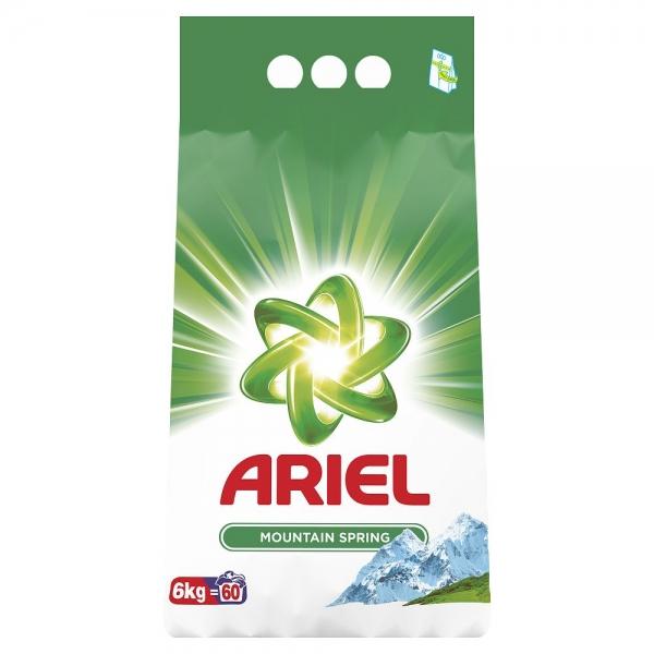 Ariel Detergent automat, 6 kg, 60 spalari, Mountain Spring 0