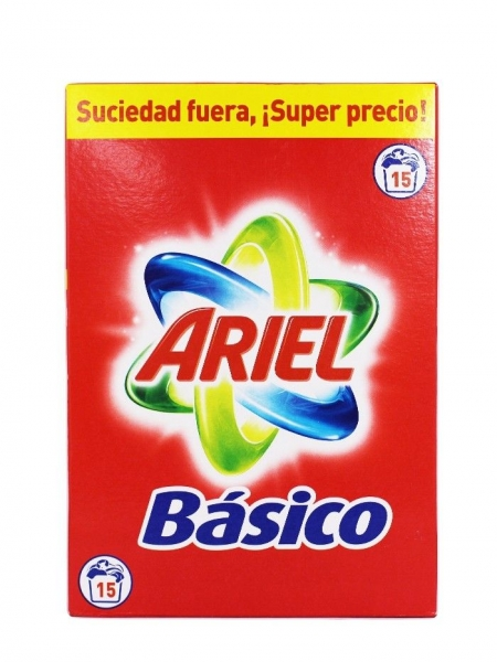 Ariel Detergent automat, 975 g, 15 spalari, Basico 0