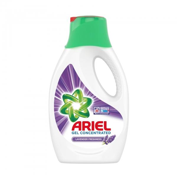 Ariel Detergent lichid, 1.1L, 20 spalari, Lavanda 0