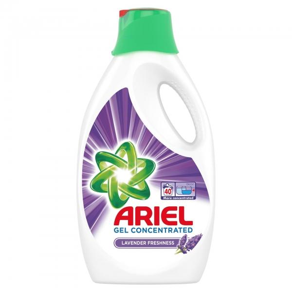 Ariel Detergent lichid, 2.2L, 40 spalari, Lavanda 0
