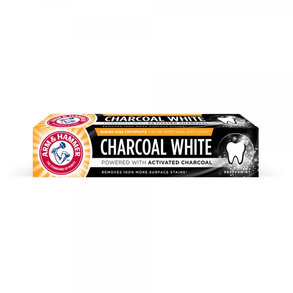 Arm and Hammer Pasta de dinti, Charcoal White, 75 ml 0