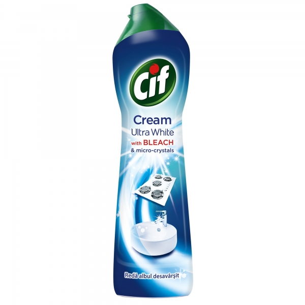 Cif Crema abraziva, 250 ml, Ultra White 0