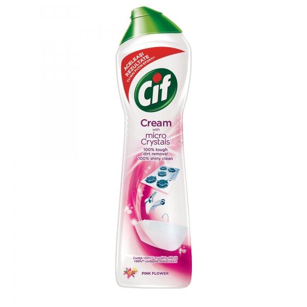 Cif Crema abraziva, 500 ml, Pink Flower 0