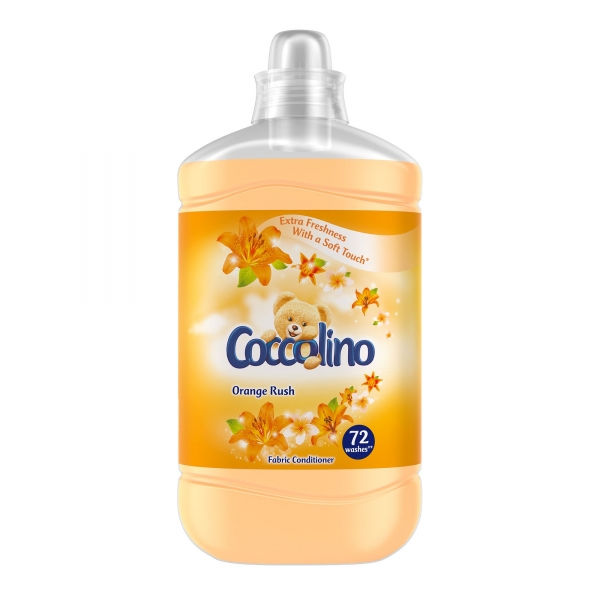 Coccolino Balsam de rufe, 1.8 L, 72 spalari, Orange Rush 0
