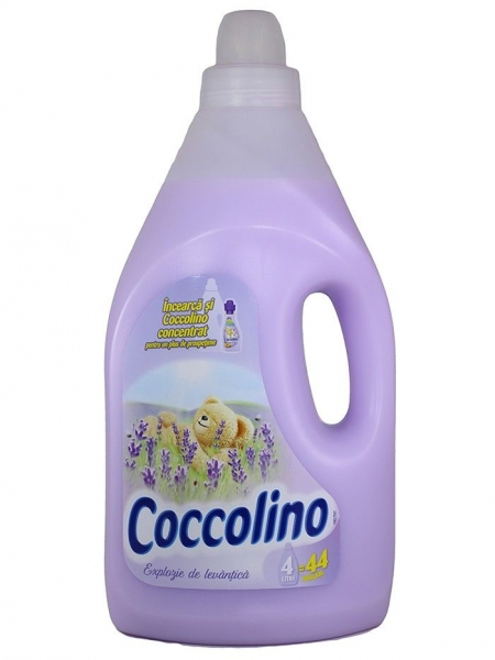 Coccolino Balsam de rufe, 4 L, 44 spalari, Explozie de Levantica 0