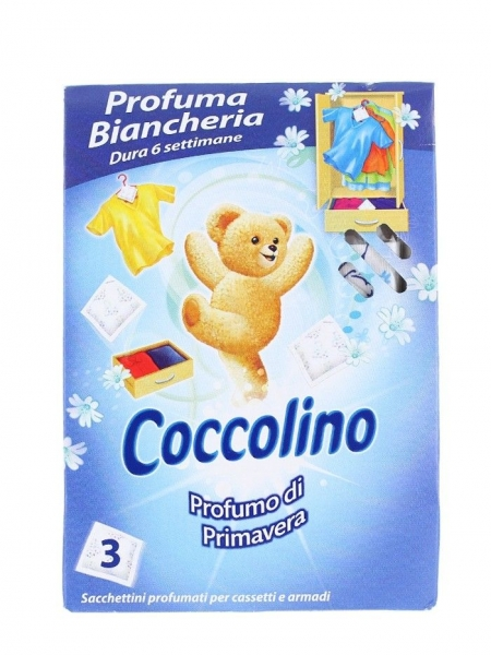 Coccolino Saculeti parfumati, 3 buc, Primavera 0