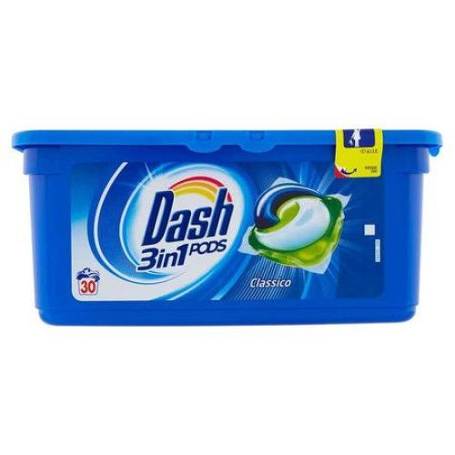 Dash Detergent capsule 3in1 PODS, 30 buc, Regular 0