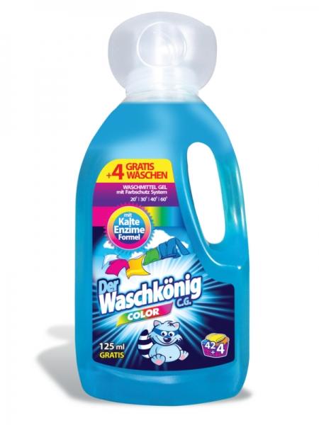 Der Waschkönig C.G. Detergent lichid, 1625 ml, 46 spalari, Color 0
