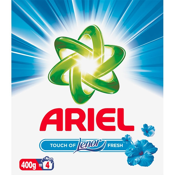 Ariel Detergent automat, 400 g, 4 spalari, Touch of Lenor Fresh 0