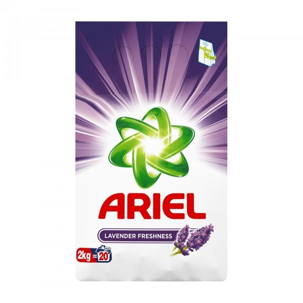 Ariel Detergent automat, 2 kg, 20 spalari, Lavanda 0