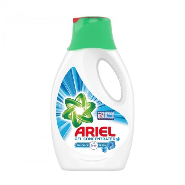 Ariel Detergent lichid, 1.1L, 20 spalari, Touch of Lenor Fresh 0