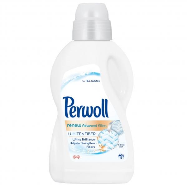 Perwoll Detergent lichid, 900 ml, 15 spalari, Renew White 0