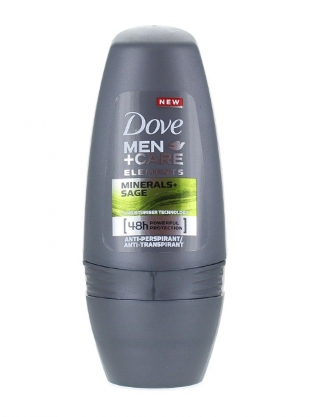 Dove Deodorant Roll-on, Barbati, 50 ml, Minerals Sage 0