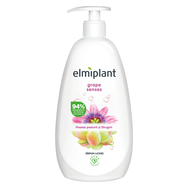 Elmiplant Sapun lichid, 500 ml, Grape Senses 0
