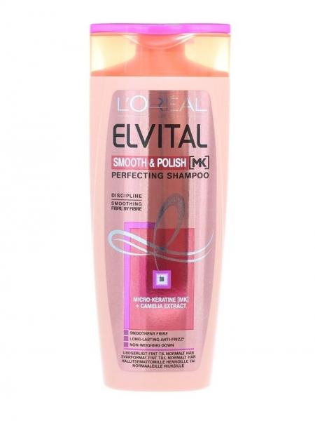 L'Oreal Elvital Sampon, 250 ml, Smooth & Polish 0
