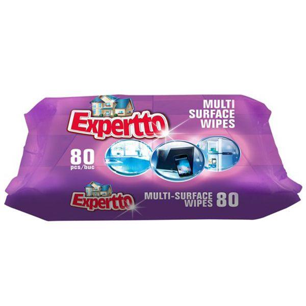 Expertto Servetele umede multisuprafete, 80 buc 0