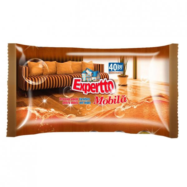 Expertto Servetele umede pentru mobila, 40 buc 0