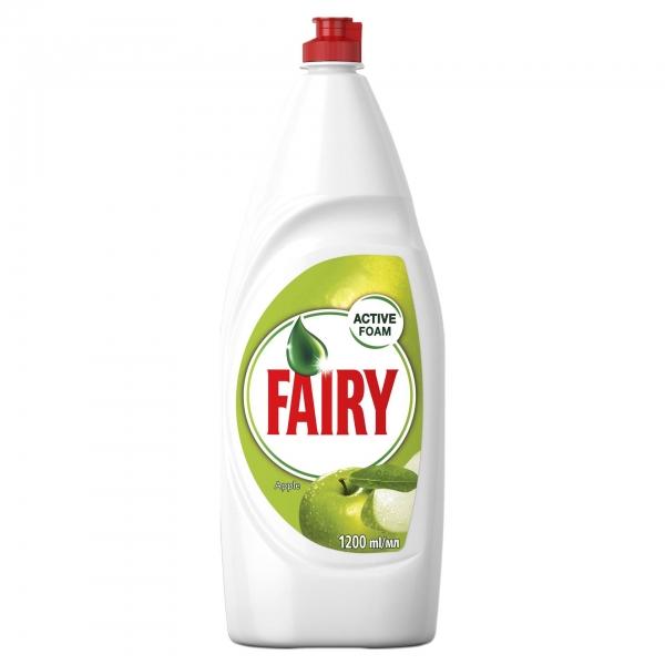 Fairy Detergent pentru vase, 1.2 L, Apple 0
