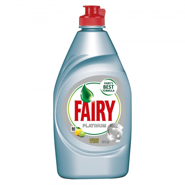 Fairy Detergent pentru vase, 430 ml, Platinum Lemon & Lime 0