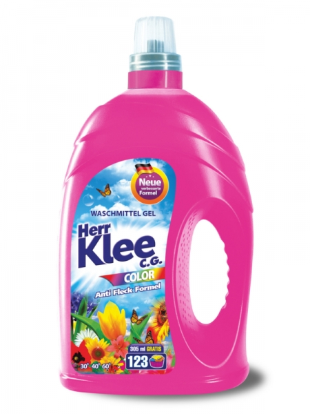 Herr Klee C.G. Detergent lichid, 4305 ml, 123 spalari, Color 0