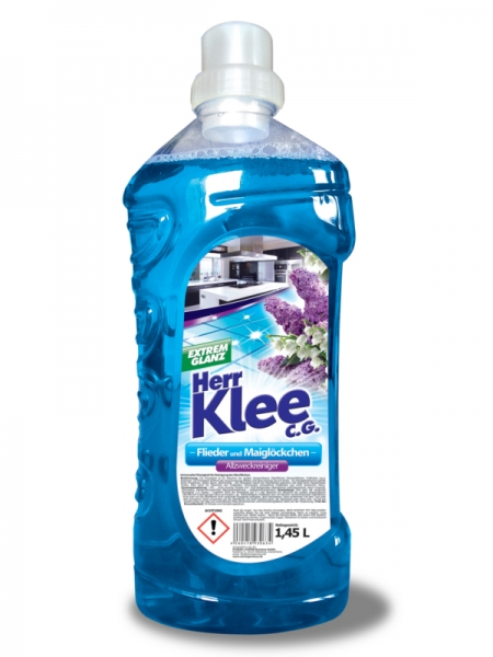 Herr Klee C.G. Detergent pardoseli, 1.45 L, Liliac and Lily of the Valley 0