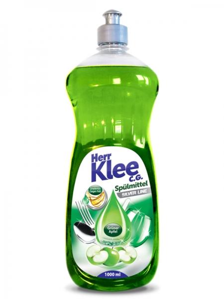 Herr Klee C.G. Detergent pentru vase, 1 L, Silver Line Green Apple 0