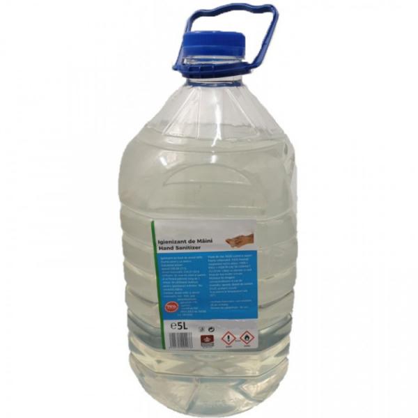 Igienizant pentru maini pe baza de Alcool Etilic, 75, 5 L 0