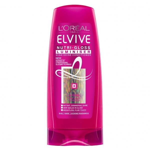 L Oreal Elseve Balsam, 200 ml, Nutri-Gloss Luminizer pentru par tern 0