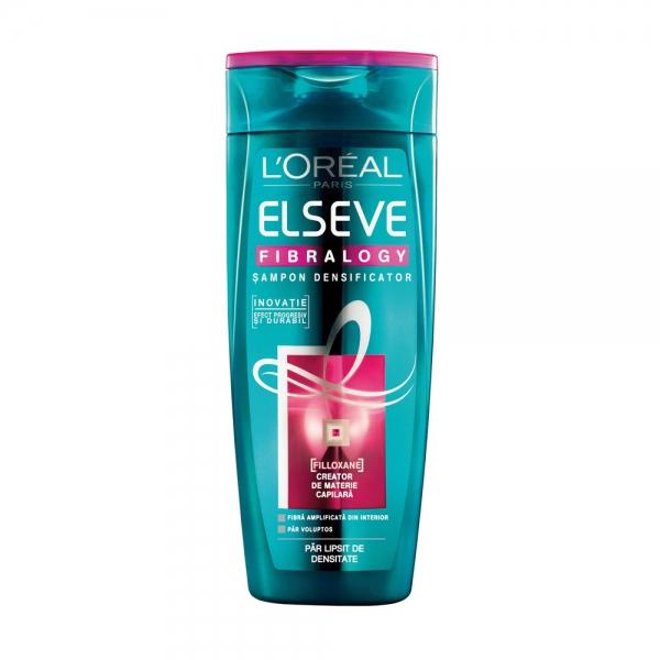 L Oreal Elseve Sampon, 400 ml, Fibralogy pentru par lipsit de densitate 0
