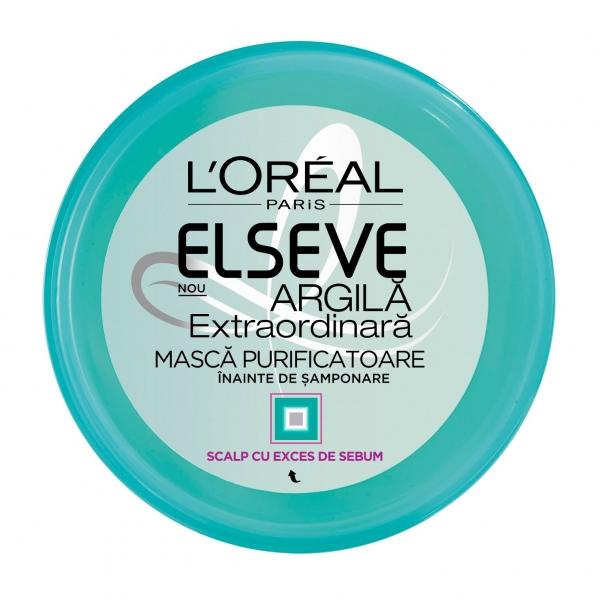 L Oreal Elseve Masca de par pre-samponare, 150 ml, Argila Extraordinara 0