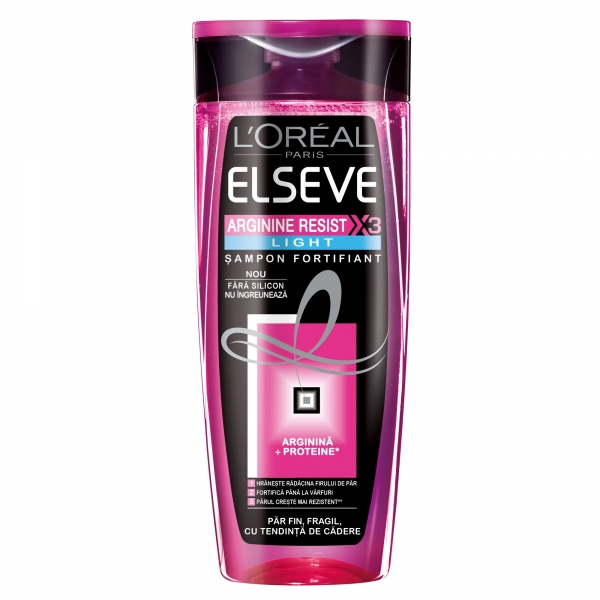L Oreal Elseve Sampon, 400 ml, Arginine Resist X3 Light pentru par fragil, cu tendinta de cadere 0